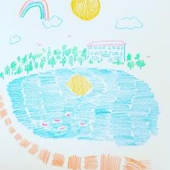 Lake Lorraine - sketchbook